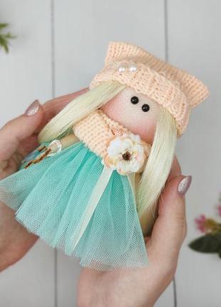 Интерьерная текстильная тильда кукла декор ручной работы подарок