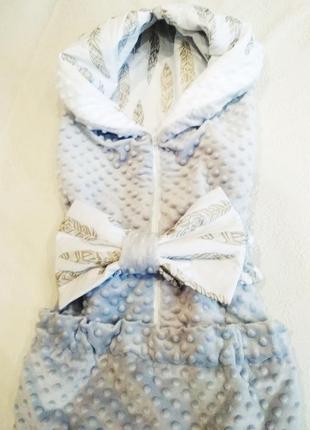 Одеяло на выписку для новорожденных