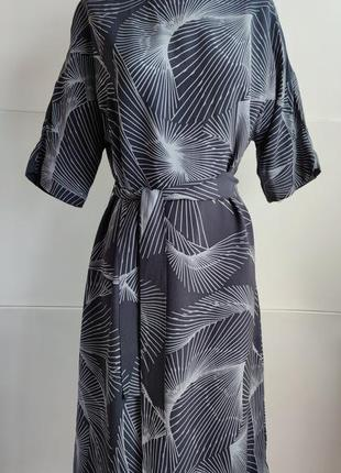 Платье миди jigsaw с принтом красивых цветов