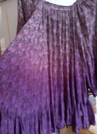 Платье  туника  батал