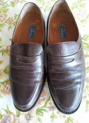 Туфли кожаные romba aнглия 43 размер