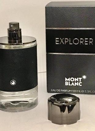 Мужская туалетная вода mont blanc explorer. монт бланк эксплорер.100мл