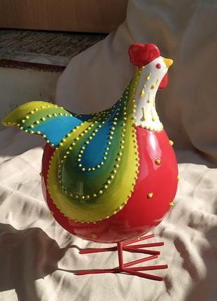 Декор пасха петух статуэтка фарфор пасхальный