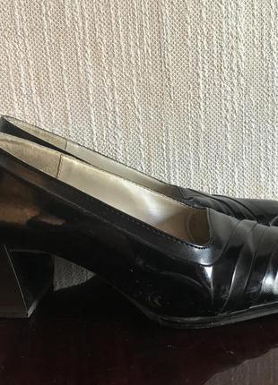 Туфли женские, квадратный носок, размер 38