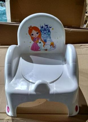 """Горшок - стульчик """"принцесса"""" tega baby"""