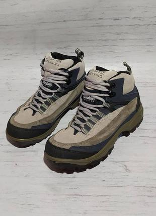 Landrover original трекинговые ботинки замша