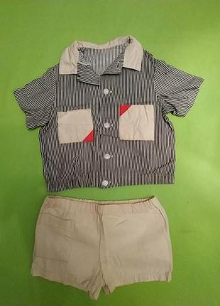 Комплект шорты и кофточка