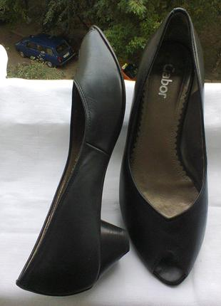 Туфли  из  натуральной кожи  от gabor.