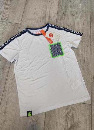 Спортивная футболка быстросохнущая cool club 128 см
