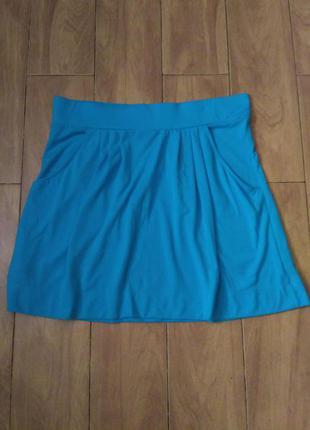 Бирюзовая юбка marks&spencer