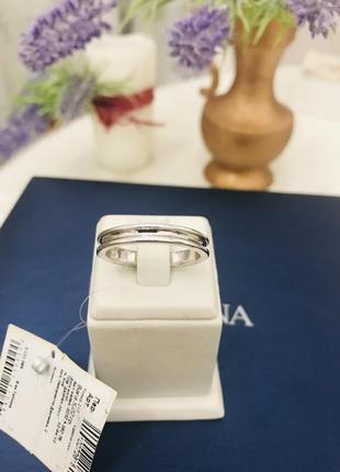 Мужское обручальное серебряное кольцо zarina