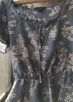 Блуза, футболка, рубашка, кофточка небесного цвета