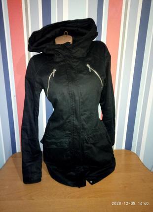 Распродажа!!! женская коттоновая куртка парка деми бренд sisters points