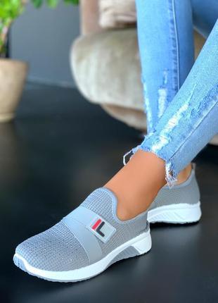 Удобные текстильные кроссовки