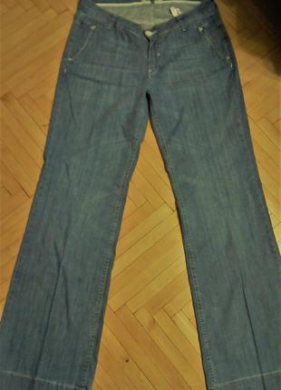 Голубые джинсы  рост 34 р.l -хl на высокий рост