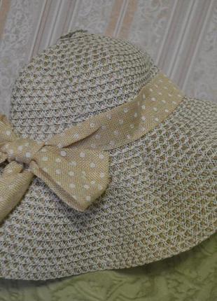 Шляпа-панама женская