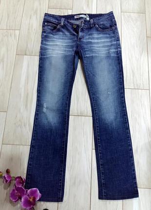 Прямые плотные джинсы only на 46-48 размер