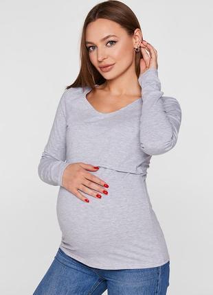 Лонгслив для беременных и кормления