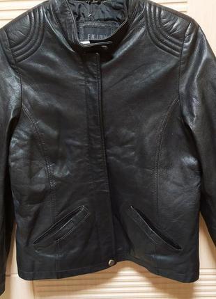 Женская куртка кожа enjoy деми