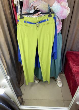 Очень стильные брюки бананы 44-46 размер