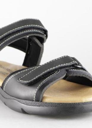 Кожаные женские босоножки\сандалии в спортивном стиле\go soft\р.40(26см)
