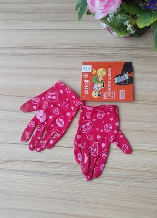 Тоненькі дитячі рукавички emoji