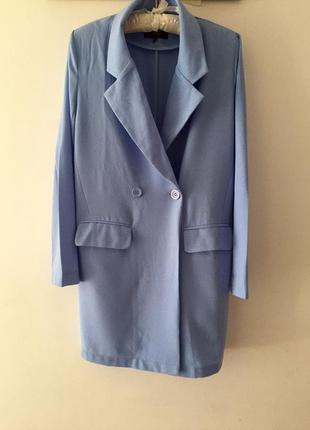 Удлинённый пиджак- кардиган