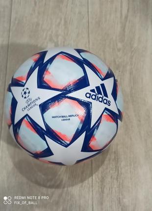 Футбольный мяч adidas champions league 2020 fs0256, размер 5ка, вес 430г.