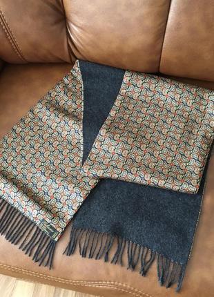 Шёлк шерсть красивый шерстяной шелковый шарф