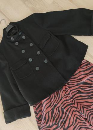 Пиджак куртка укороченная оверсайз