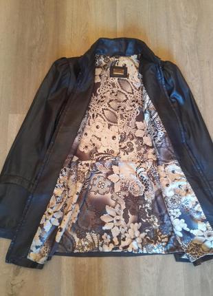 Куртка из мягкой кожи