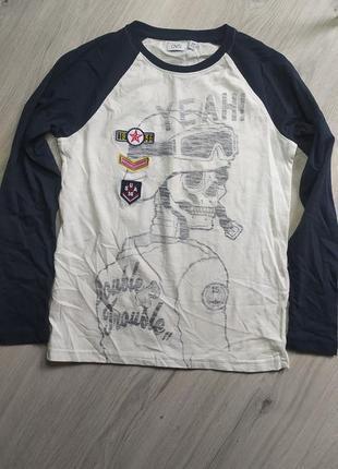 Реглан, футболка с длинным рукавом рост 146 см, ovs
