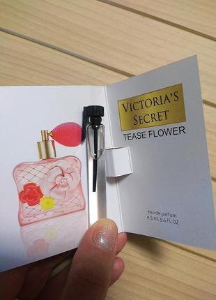 Духи парфюм пробник tease flower от victoria's secret ☕ объём 5мл