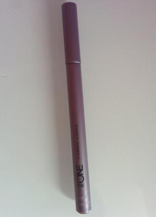 Олiвець маркер для брiв темно коричневий the one
