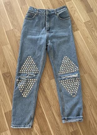 Крутые джинсы, мом