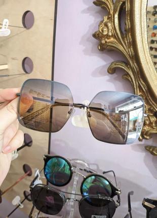 Красивые  градиентные зеркальные очки gian marco venturi новинка 2021 окуляри