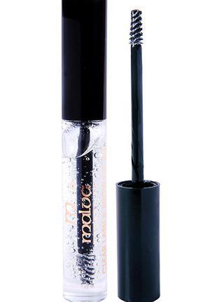Гель для бровей и ресниц фикструющий malva cosmetics