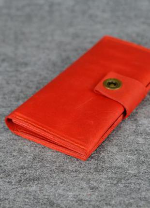 09169ad46934 ... Кожа. ручная работа. кожаный красный женский кошелек, портмоне, клатч2  фото ...