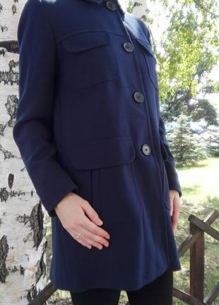 Темно-синие пальто next