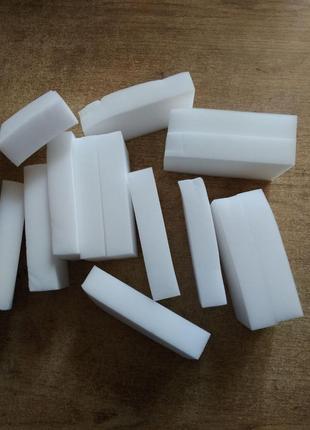 Меламиновые губки примятые, 10шт в упаковке, уценка