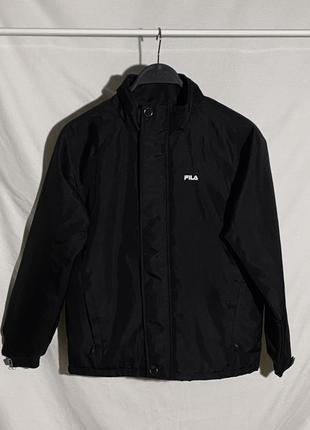 Куртка ветровка fila с рефлективным лого