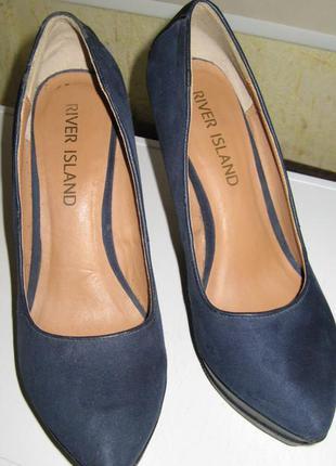 """Стильные туфли на платформе """"river island"""" 38р."""