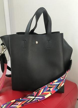 Сумка стильная шопер сумочка на плечо сумка через плечо кроссбоди