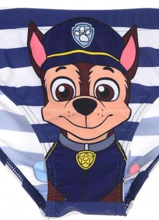 Плавки для хлопчика disney щенячий патруль