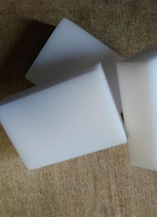 Большие меламиновые губки, размер 10*7*3см, в упаковке 10шт