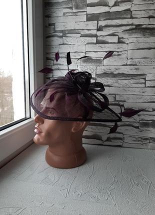 Дизайнерская мини шляпка my hat шляпка-обруч украшение для волос