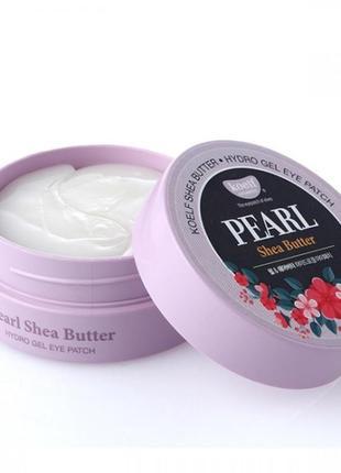 Гидрогелевые патчи для глаз с жемчугом и маслом ши petitfee&koelf pearl & shea butter