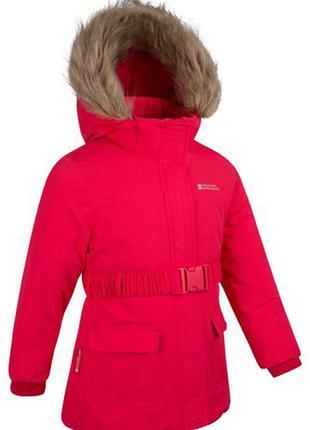 Mountain warehouse куртка зимняя девочке р.11-12 лет
