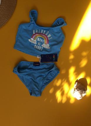 Купальник для девочки. бренд lupilu
