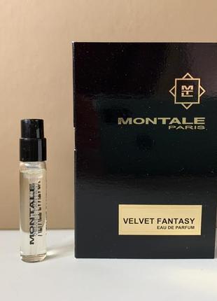 Montale velvet fantasy парфюмированная вода пробник 2 мл
